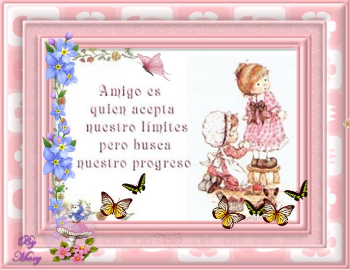 amigo es quien acepta nuestros lilimites pero busca nuestro progreso