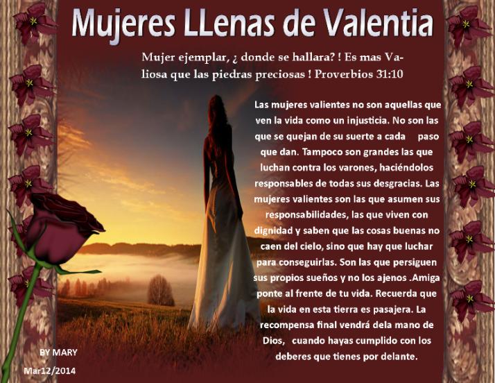 Marzo12 Mujeres llenas de valentia